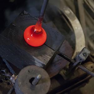 Herstellung von Kristallglas - OertelCrystal