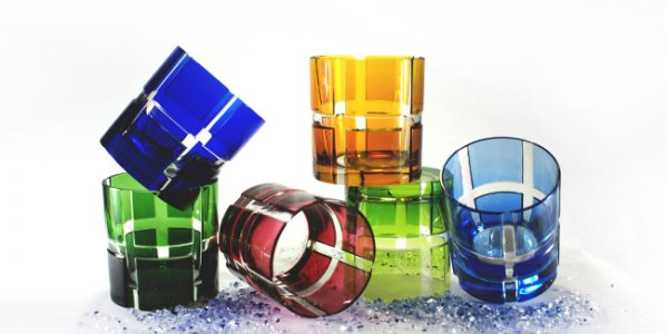 Whiskeytumbler Quadrone Leadcrystal
